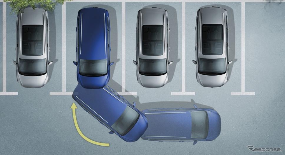 """VW ゴルフ トゥーラン TSI コンフォートライン テックエディション2駐車支援システム """"Park Assist"""" イメージ"""