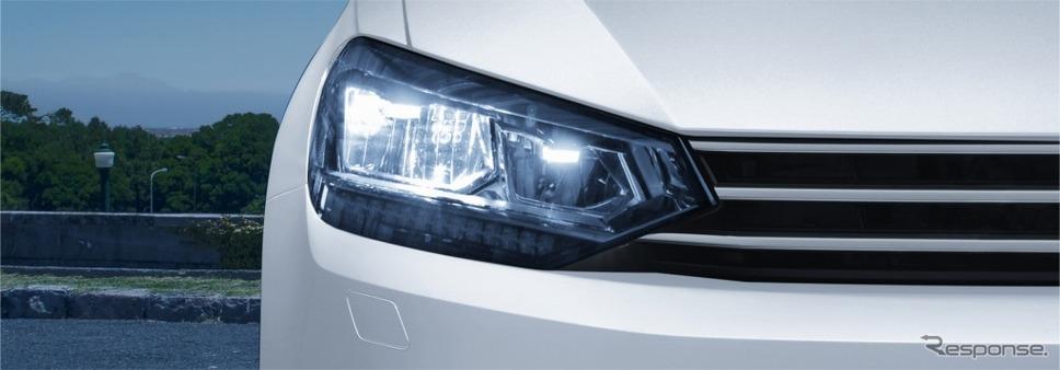 VW ゴルフ トゥーラン TSI コンフォートライン テックエディション2LEDヘッドライト(オートハイトコントロール機能、LEDターンシグナル付)ヘッドライトウォッシャー/ヒーテッドウォッシャーノズル(フロント) イメージ