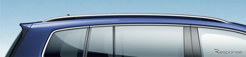 VW ゴルフ トゥーラン TSI コンフォートライン テックエディション2シルバールーフレール イメージ