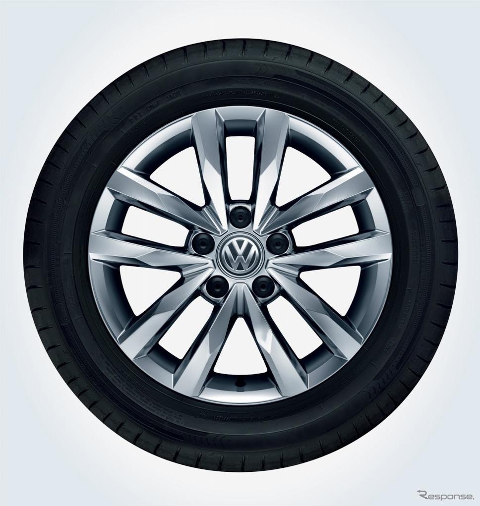 VW ゴルフ トゥーラン TSI コンフォートライン テックエディション216インチアルミホイール イメージ