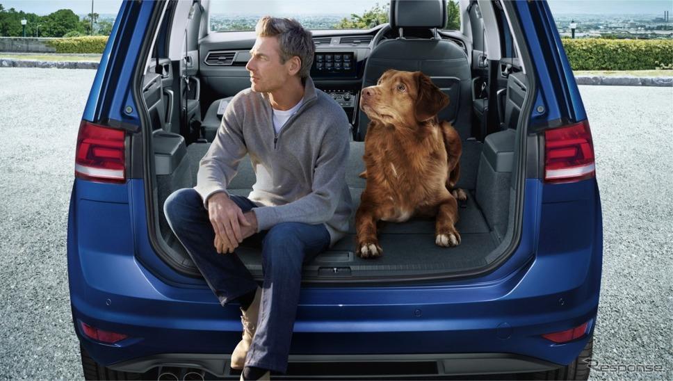 VW ゴルフ トゥーラン TSI コンフォートライン テックエディション2ラゲージイメージ