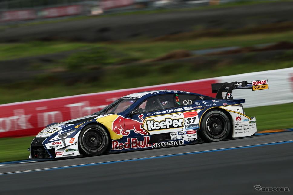 タイで優勝、GT500クラスのポイント首位となった#37 LC500。《撮影 益田和久》
