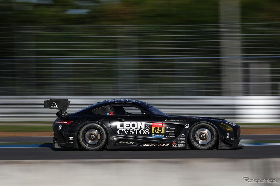 タイでポイントリーダーの座を失った#65 AMG。GT300クラスのランク3番手で最終戦へ。《撮影 益田和久》