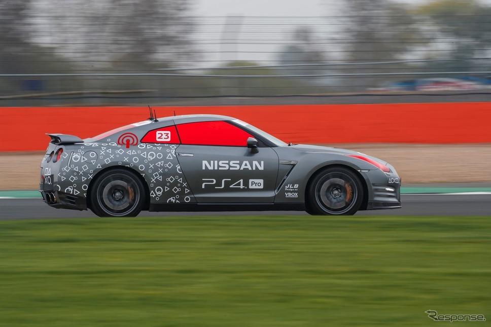 日産 GT-R のラジコンカー