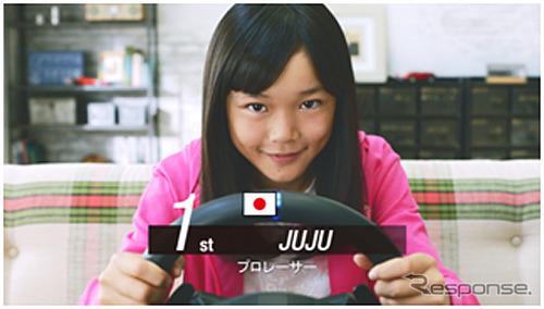 日本人女性最年少の11歳のプロレーサー Jujuさん