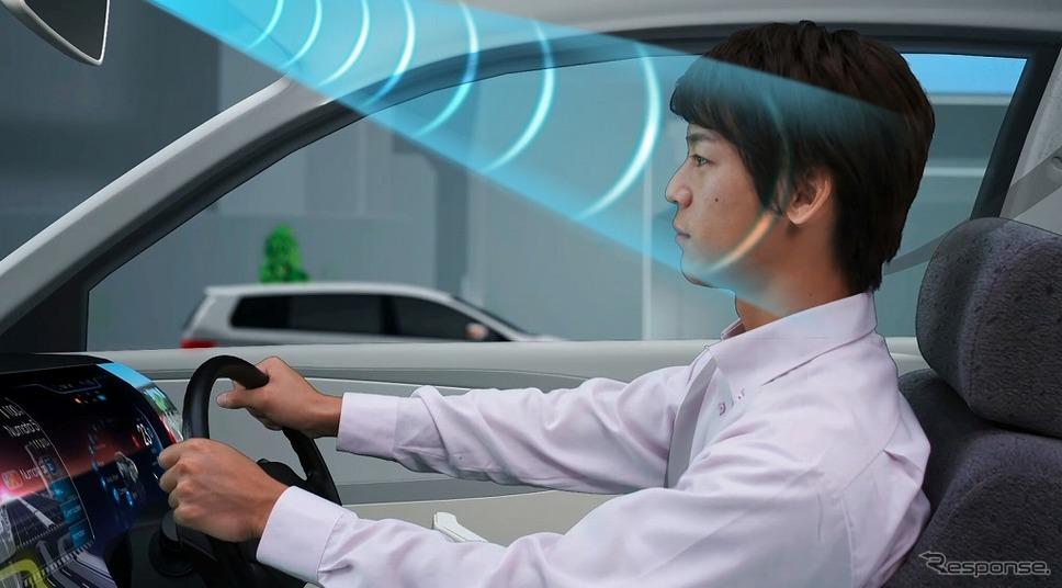 車載用 超指向性スピーカー