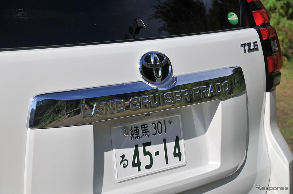 トヨタ ランドクルーザープラド 改良新型《撮影 諸星陽一》