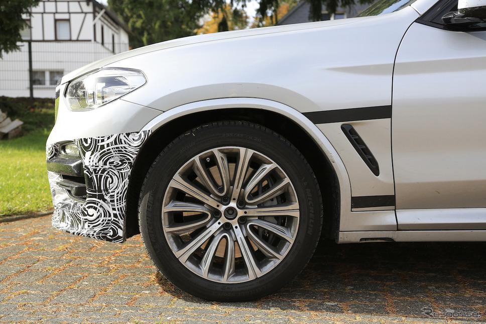 BMW アルピナ XD3 スクープ写真《APOLLO NEWS SERVICE》