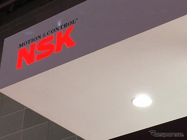 今回のモーターショーでは体験型イベントを行う部品メーカーが多い印象だが、日本精工(NSK)もそのひとつ。《撮影 石田真一》