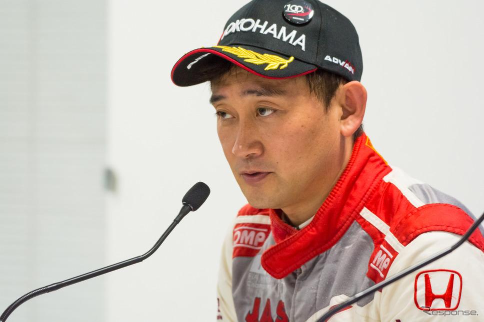 道上龍選手(Honda Racing Team J.A.S.)《撮影 清水知恵子》