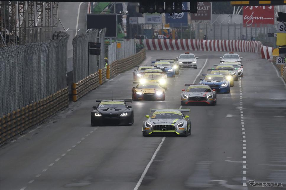 マカオグランプリ2017《撮影 平田勝》