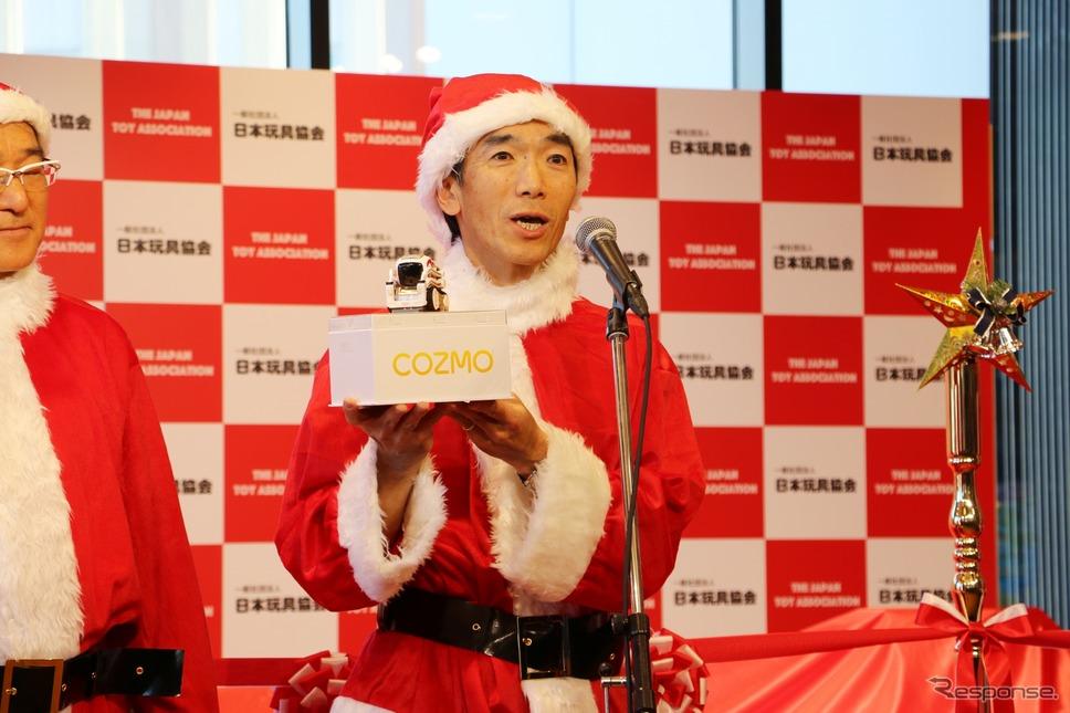 株式会社タカラトミー 代表取締役 小島 一洋副社長《撮影 平川 亮》