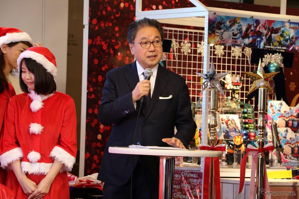 一般財団法人 日本玩具協会 見本市委員会専門委員 おもちゃコンシェルジュ 伊吹 文昭氏《撮影 平川 亮》