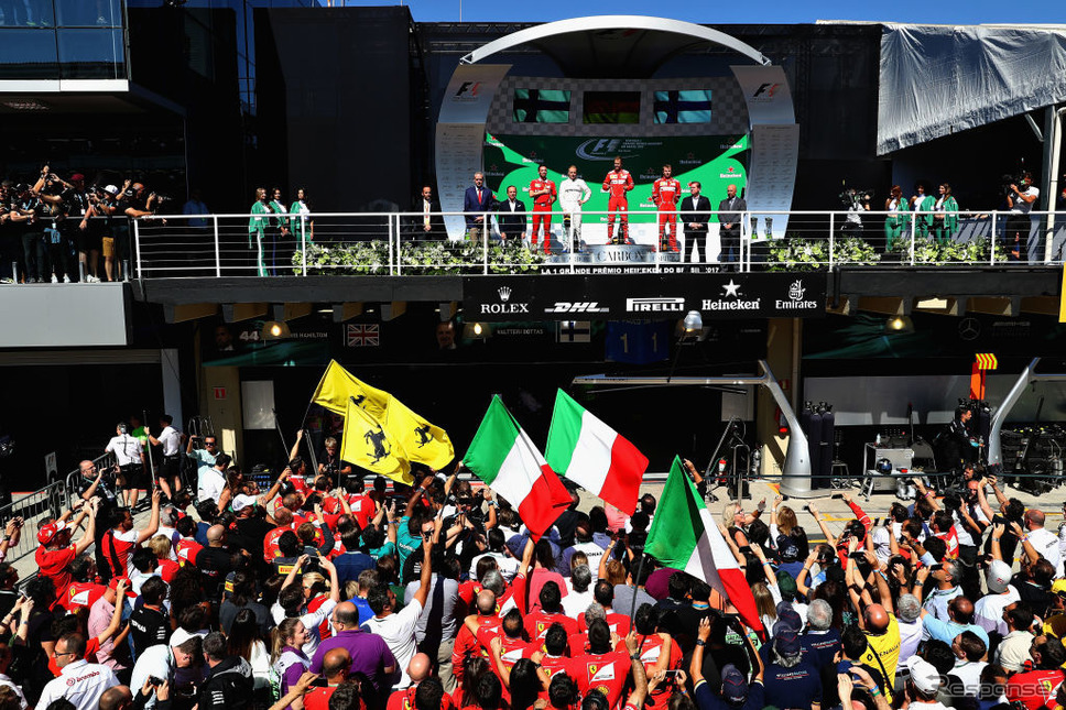 2017F1ブラジルGP(c) Getty Images