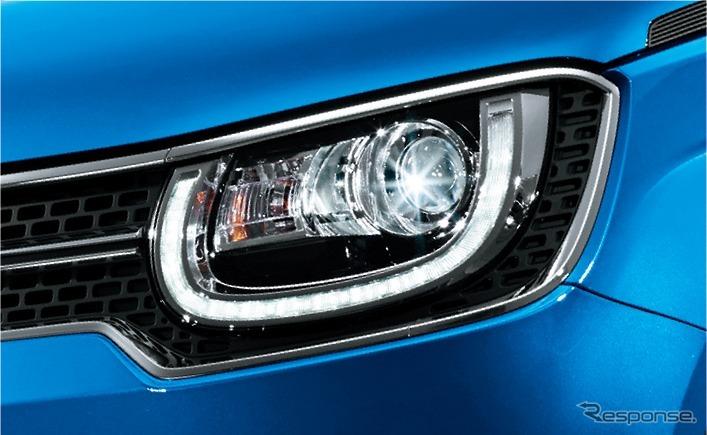 スズキ イグニス Sセレクション LEDヘッドランプ / LEDポジションランプ / オートライトシステム