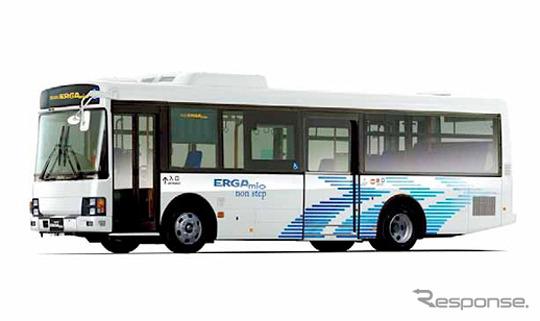 中型ノンステップバス、いすゞエルガミオ(SDG-LR290J1)