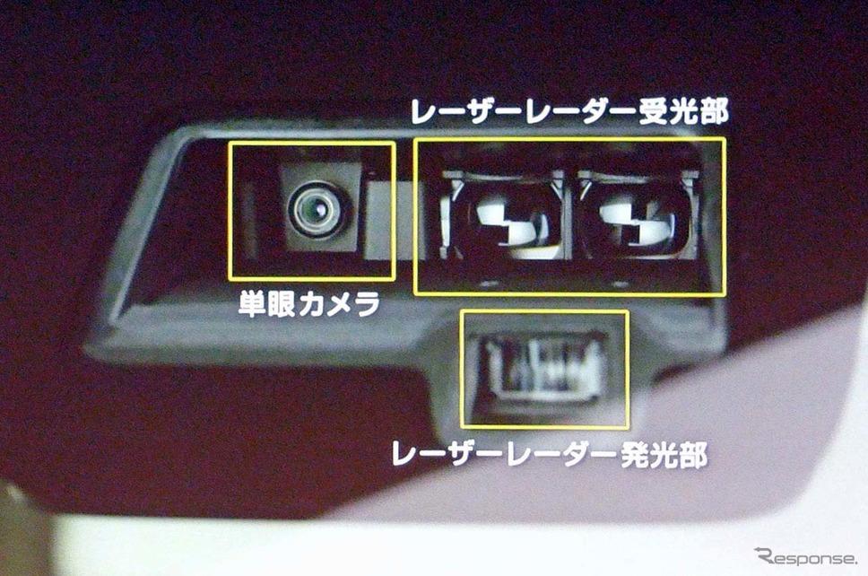 デュアルセンサー・ブレーキサポート