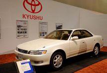 """【福岡モーターショー2017】あのクルマは九州で製造されていたのか! """"新旧展示""""でわかる、生産第1号車から最新モデルまで"""