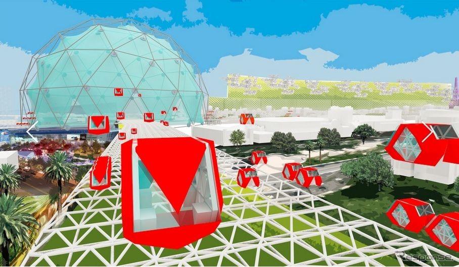 「レベル8」の自動運転計画を掲げたZGFアーキテクツ