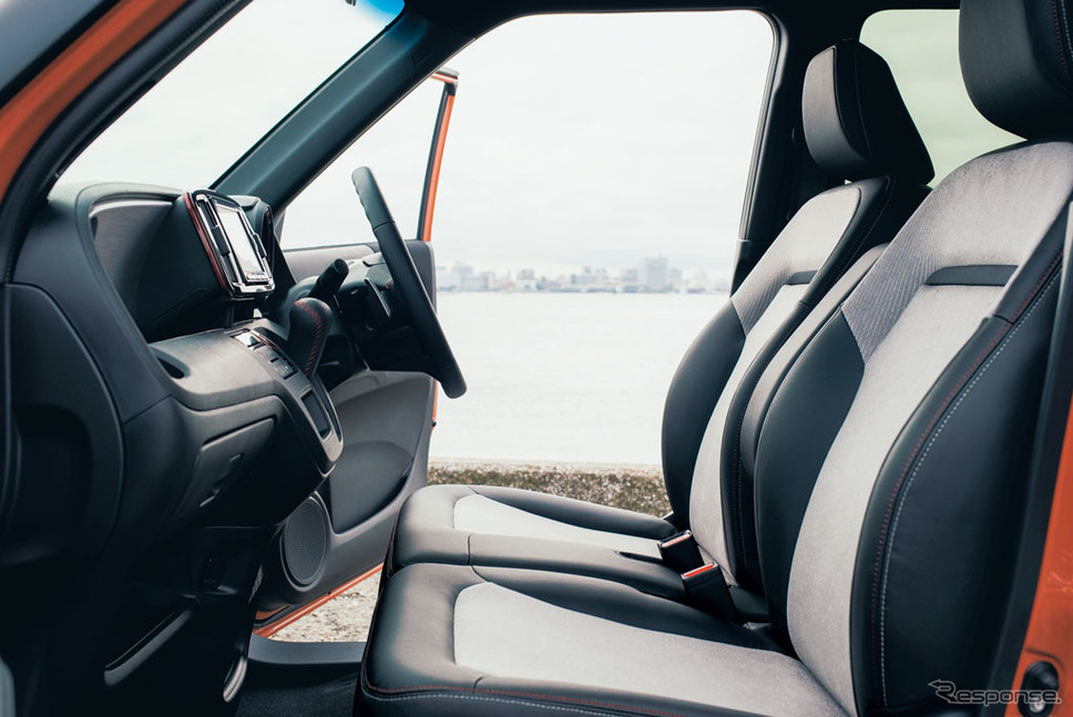 ホンダ N-ONE RS インパネ、フロントシート イメージ