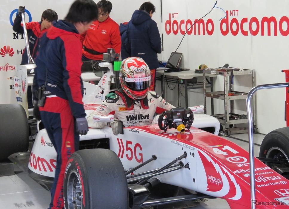 昨年12月の鈴鹿テストにダンディライアンから参加した松下信治は、今季の同チーム入りが決定。《撮影 遠藤俊幸》