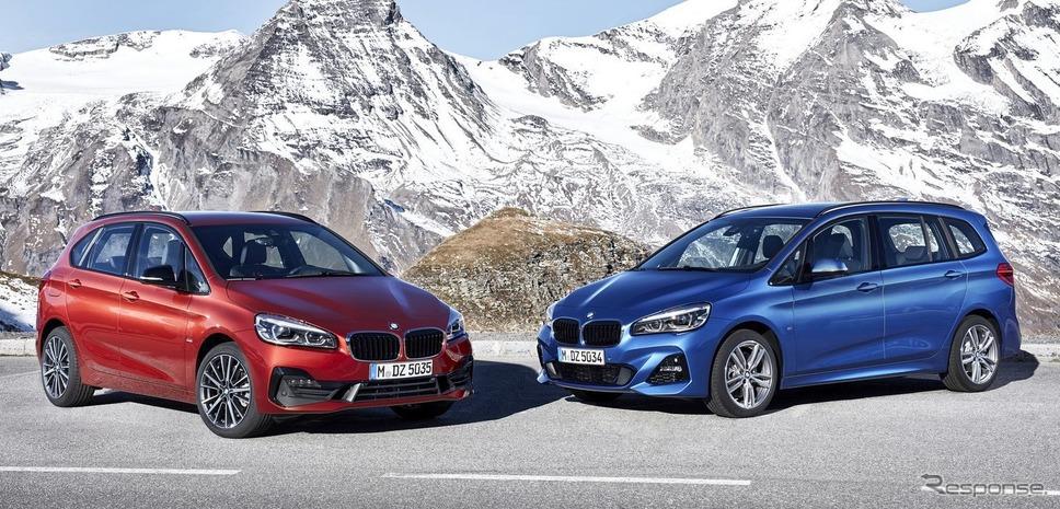BMW 2シリーズのアクティブ / グランツアラー 改良新型
