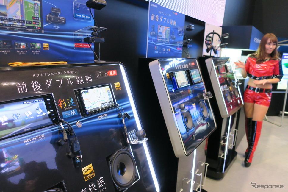 ケンウッドブース(東京オートサロン2018)《撮影 工藤貴宏》