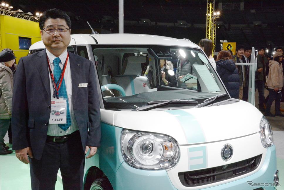 ダイハツ北海道販売の竹田幸弘取締役は、総合営業企画部の部長でもある《撮影 古庄速人》