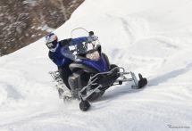 まだ間に合う「スノーモビル」…自転車よりも簡単?バイクともスキーとも違う新感覚