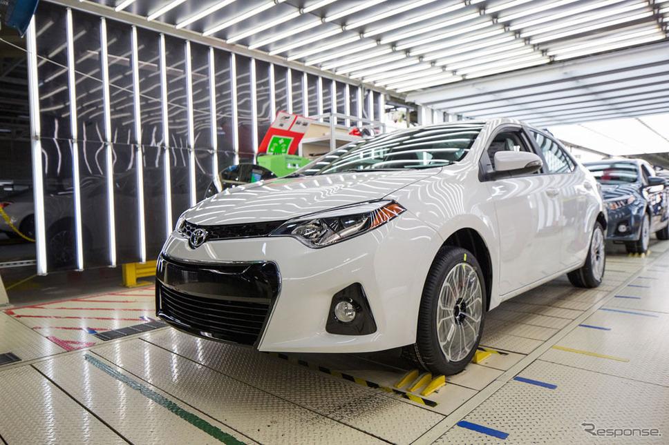 トヨタ自動車・米国ミシシッピ工場
