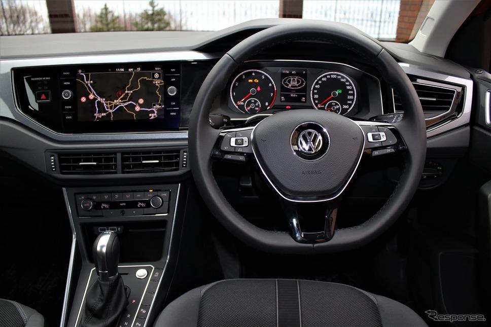 VWポロ新型《撮影  内田俊一》