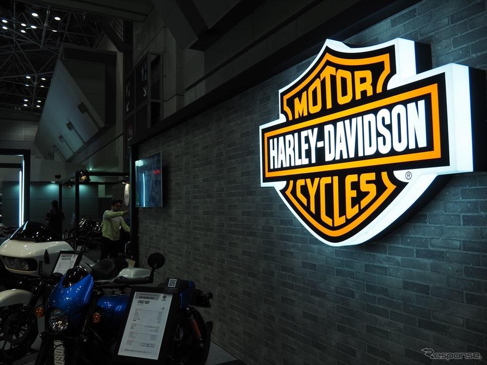 ハーレー ダビッドソン(東京モーターサイクルショー2018)