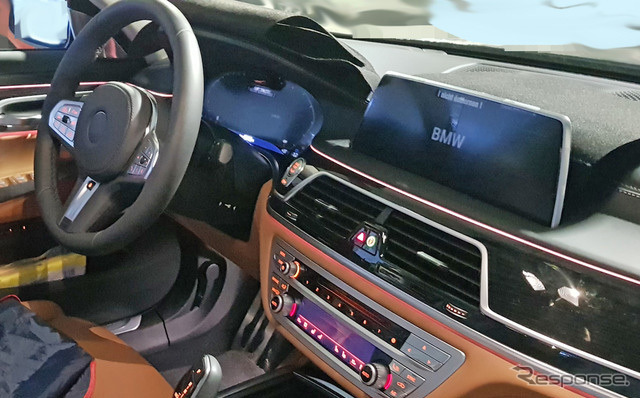 BMW  M760i xDrive スクープ写真《APOLLO NEWS SERVICE》