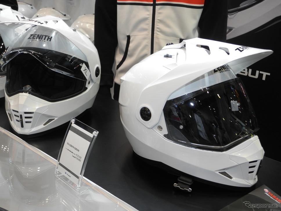 ワイズギアが4月に発売するヘルメット「YX-6 ZENITH ギブソン」《撮影 山田清志》