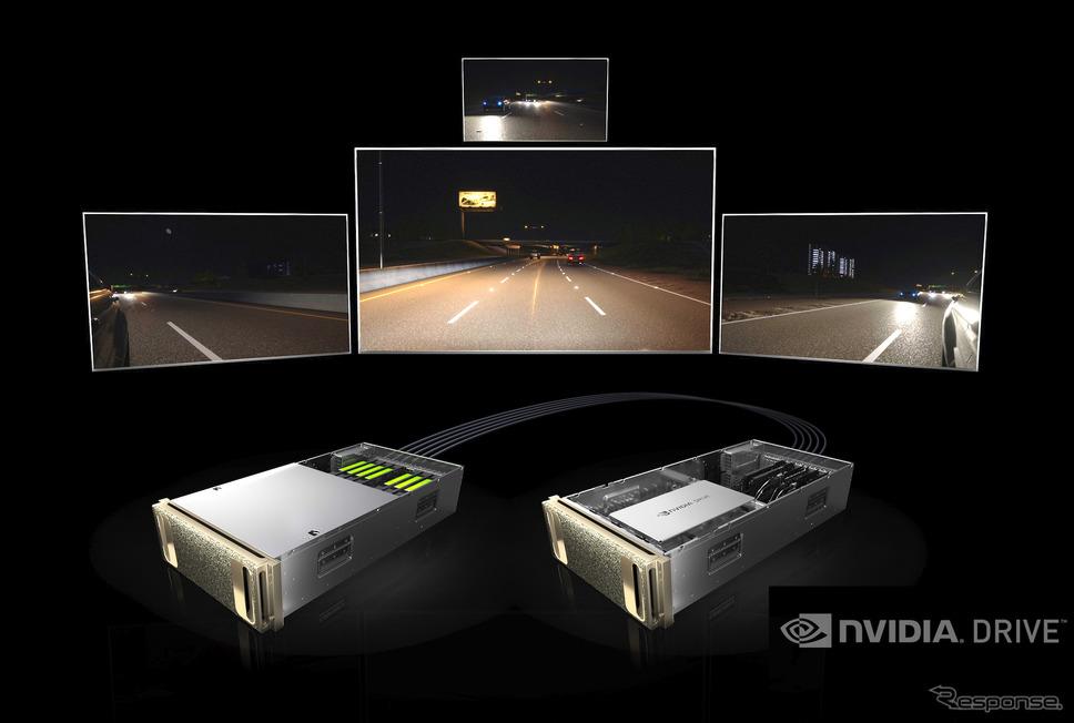 NVIDIAの自動運転シミュレーションシステム