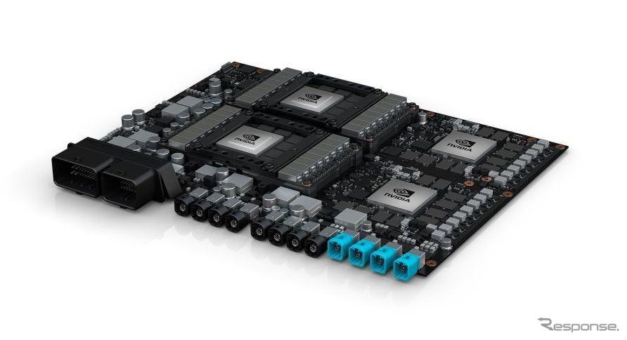 エヌビディアの完全自動運転向け新プラットホーム、「DRIVE PXペガサス」(参考画像)