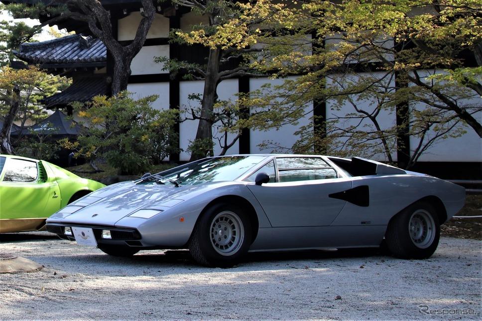 Late Cars from 1952(1952年以降に作られた中で最も優れているクルマ)…1977年ランボルギーニカウンタックLP400《撮影  内田俊一》