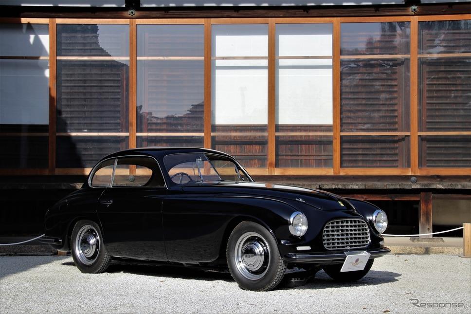 Touring Milestone(トゥーリングの歴史において画期的な道しるべとなる車)…1949年フェラーリ166インテル《撮影  内田俊一》