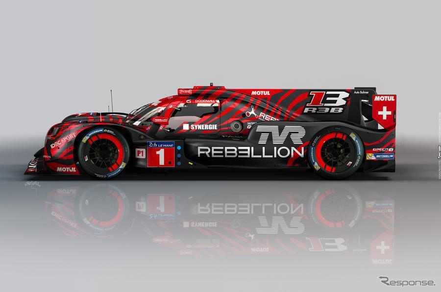 TVRとレベリオンレーシングのR-13