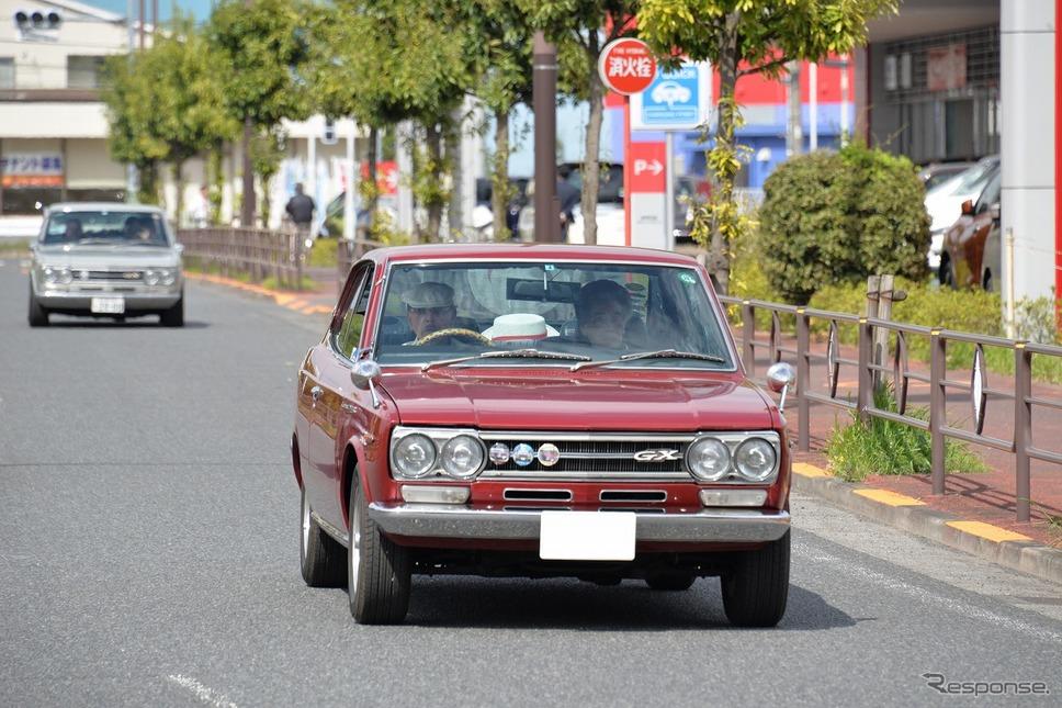 日産ローレルC30発売50周年を祝う集い《撮影 嶽宮三郎》