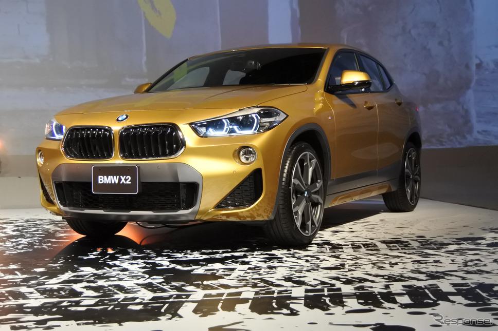 BMW X2 発表会《撮影 小松哲也》