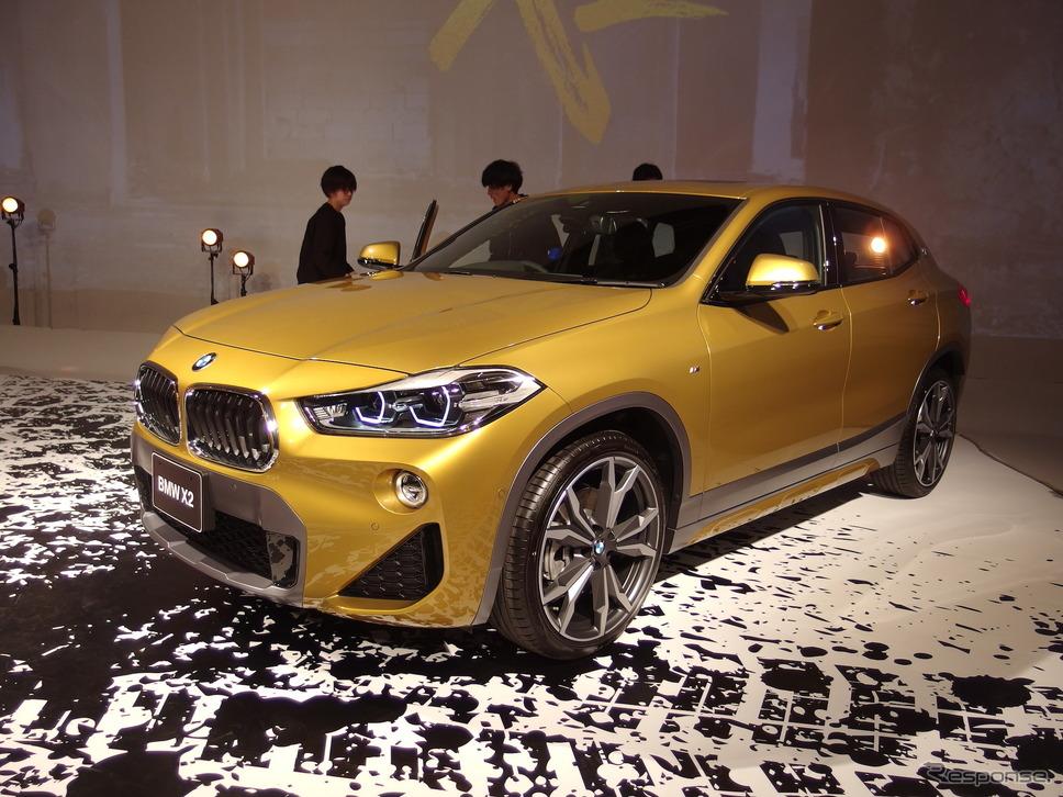 BMW X2 発表会《撮影 高木啓》