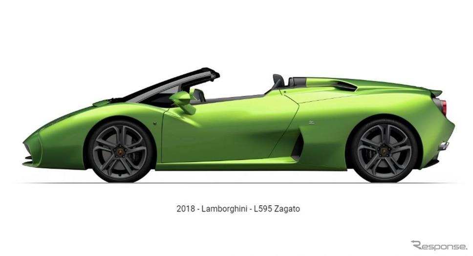 ランボルギーニ L595 ザガート・ロードスター
