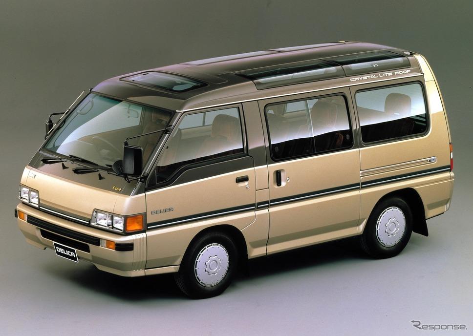 1986年 3代目三菱デリカ「クリスタルライトルーフ」
