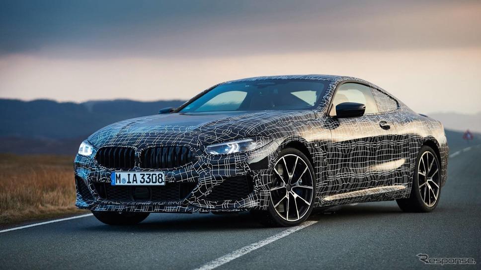 BMW 8シリーズクーペ 新型の開発プロトタイプ車