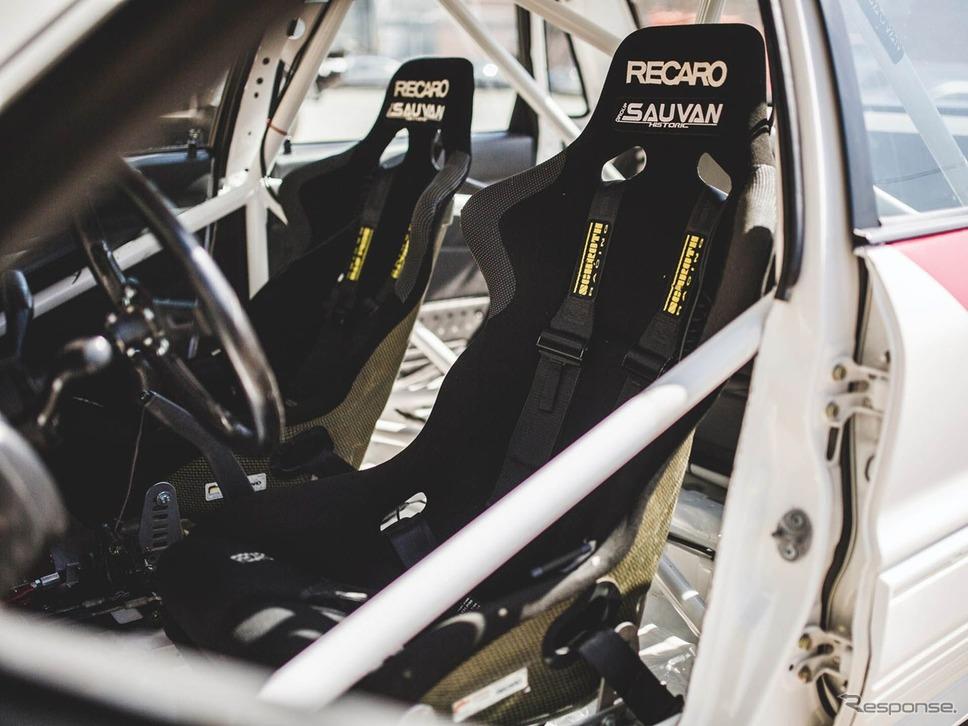 三菱 ギャラン VR-4 のグループAラリーカー(1990年式)(写真:RMサザビーズ)