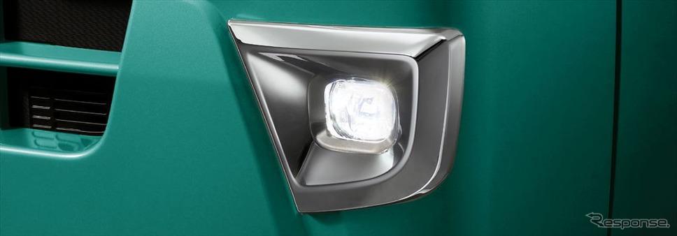 LEDフォグランプ(メッキベゼル付)