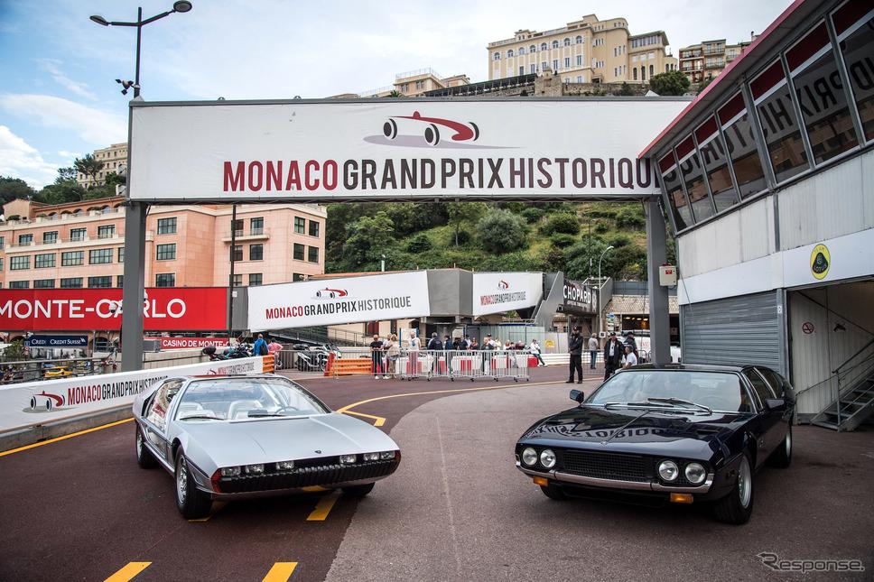 2018年のイベントではマルツァル(向かって左)に加え、エスパーダも登場。1968年に発表され、マルツァルの市販バージョン的な2ドア4シーターだ。