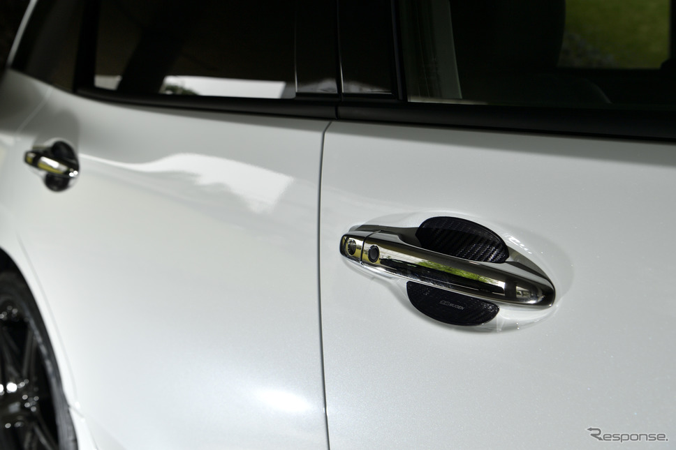 ホンダ・ジェイド改良新型無限パーツ装着車《撮影 雪岡直樹》