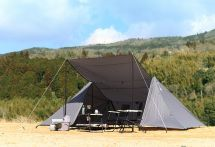 ビーズ、軽量・コンパクト収納のグループツーリング用大型テントを発売